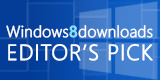 Windows 8 Downloads Editor's Pick