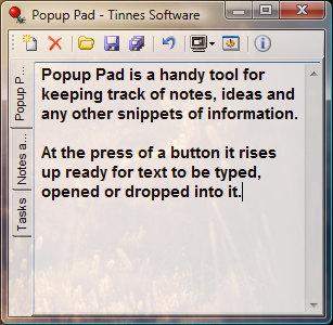 Popup Pad screen shot
